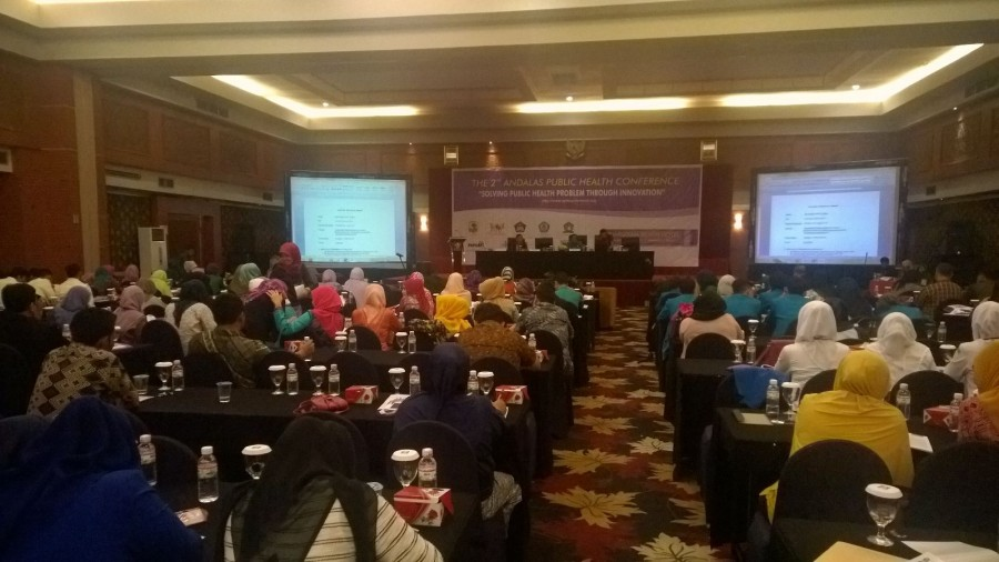 "Gallery: The 2nd Andalas Public Health Conference 2015 ""SOLVING PUBLIC HEALTH PROBLEMS THROUGH INNOVATION"""