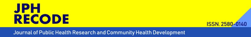 JOURNAL OF PUBLIC HEALTH RESEARCH AND COMMUNITY HEALTH DEVELOPMENT